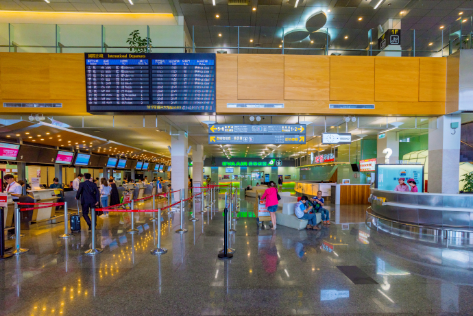 Songshan Airport consists of a couple of passenger terminals.